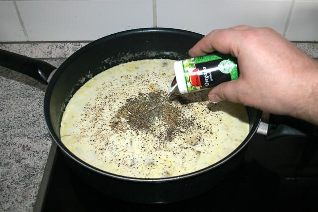 27 - Mit Basilikum, Thymian & Oregano abschmecken / Taste with basil, thyme & oregano