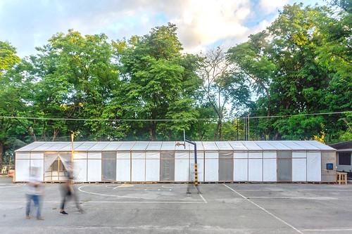 WTA Architecture + Design Studio 設計的 EQF緊急隔離設施