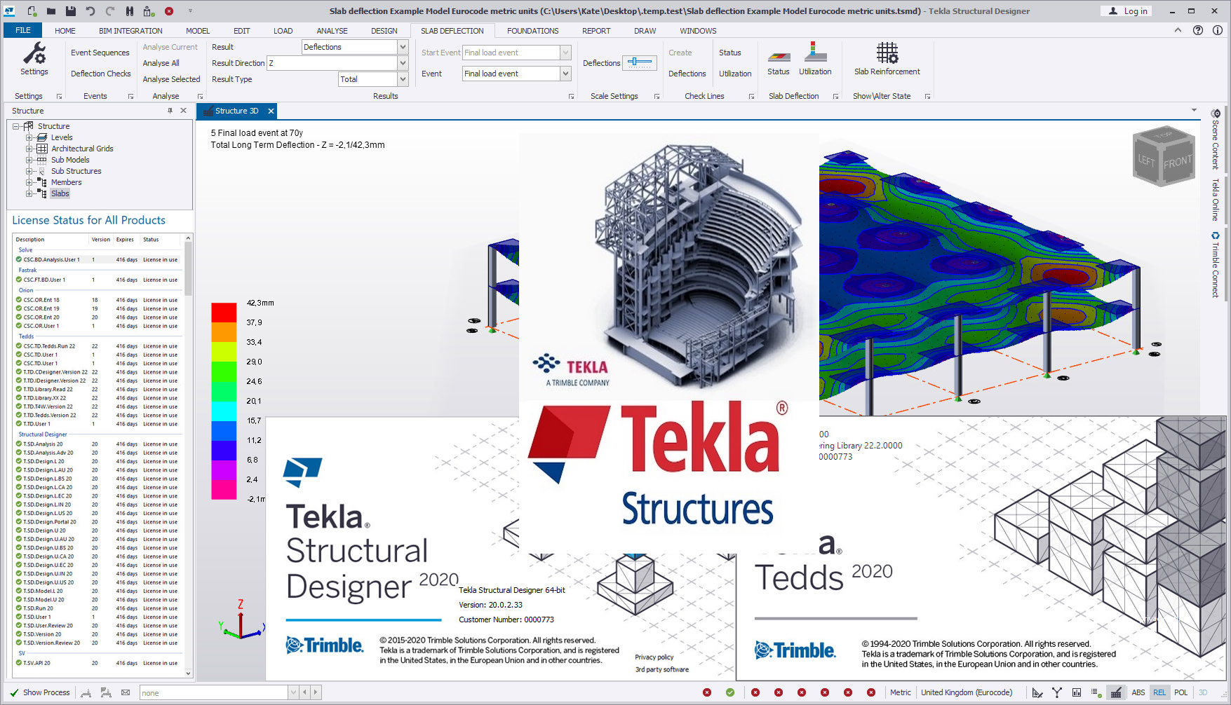 Working with Trimble Tekla Structural Design Suite 2020 full license
