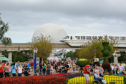 When Epcot was Busy | by dd-indy