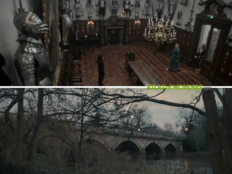 Armoury and bridge scenes