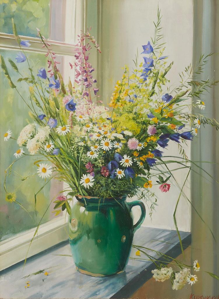 Вячеслав Ключников «Летние цветы»
