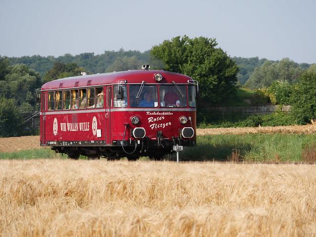 Uerdinger Schienenbus im Kraichgau