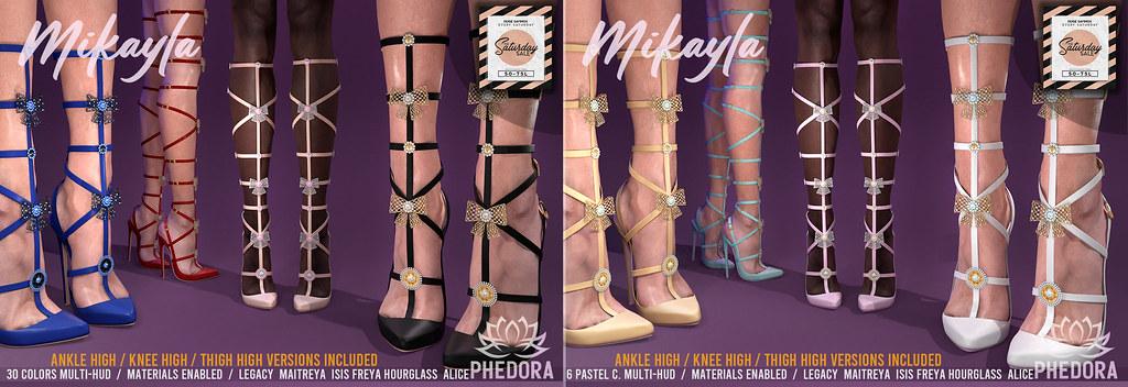 """Phedora. NEW RELEASE -PROMO PRICE – """"Mikayla"""" Heels ♥"""
