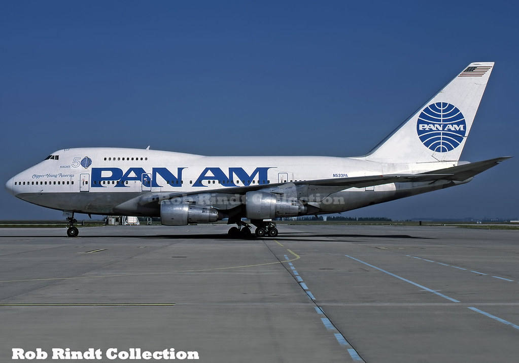 Pan American B747SP-21 N533PA