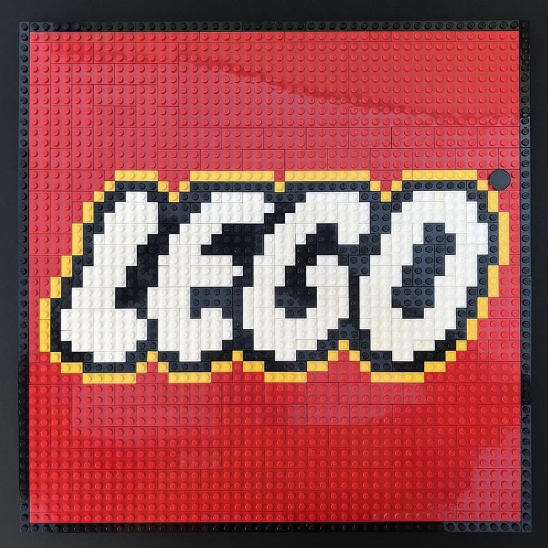 LEGO® Logo Mosaic 48x48