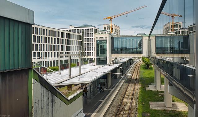 S-Bahn Station Donnersbergerbrücke München
