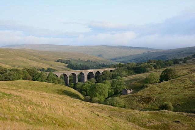 Dent Head Viaduct. Settle to Carlisle railway.