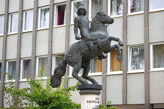 The Equestrian Statue of Count Miklós Zrínyi