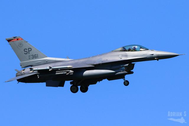 91-0361 F-16CM Fighting Falcon   ETAD   28.05.2020