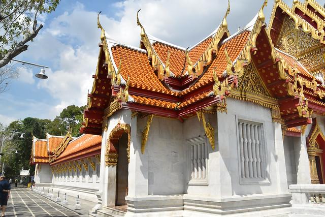Wat Benchamabophit ( Marble Temple), Bangkok, Thailand