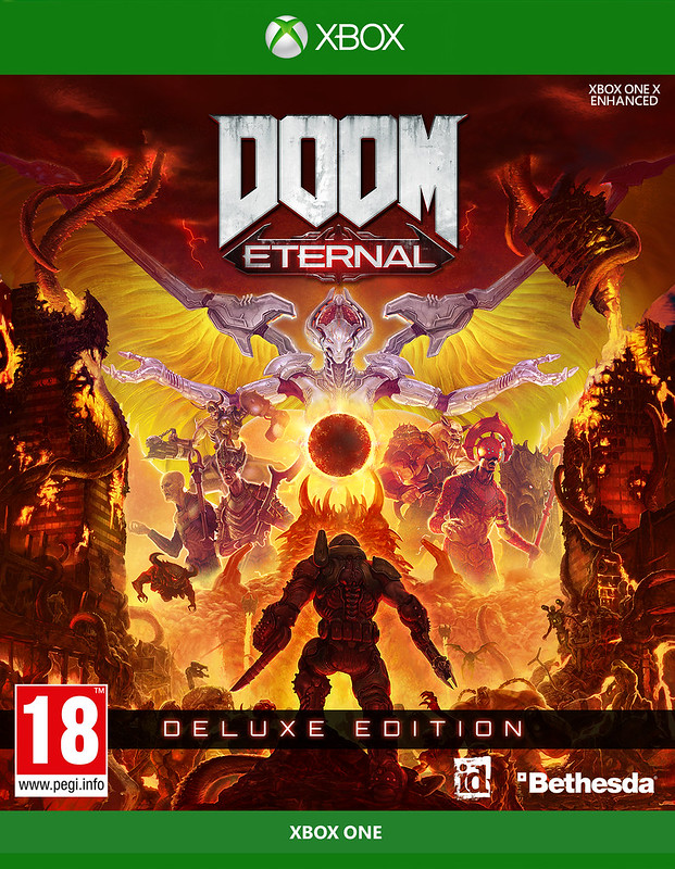Doom Eternal Box Artwork