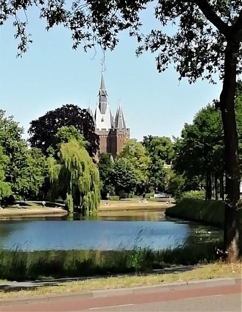Zwolle, stadsgracht, Sassenpoort