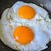 Fried Goose Eggs