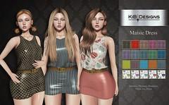 KiB Designs - Maisie Dress @Designer Showcase