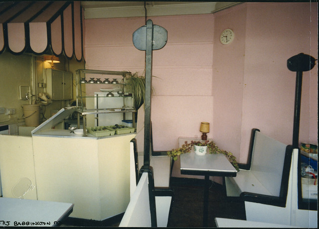 Restaurant, Babington Rd, Streatham 1990 TQ3071-004