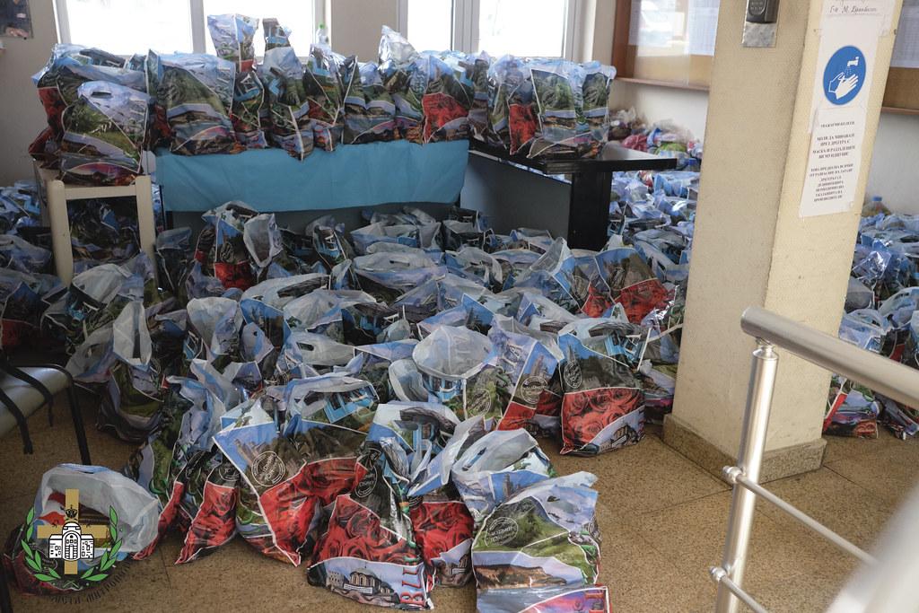 По повод Международния ден на децата бяха раздадени подаръци на столични медици  01.06.2020 г. - 2