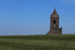 Church behind the dyke