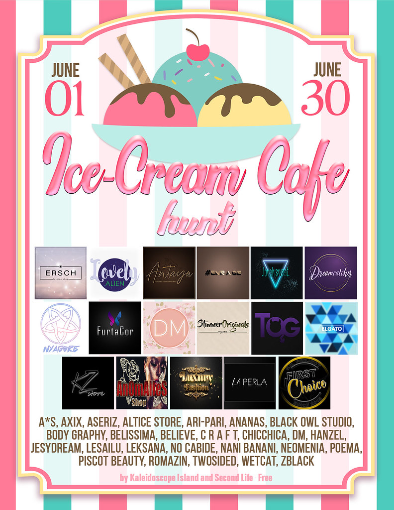 OPEN – Ice-Cream Cafe Hunt by Kaleidoscope Island