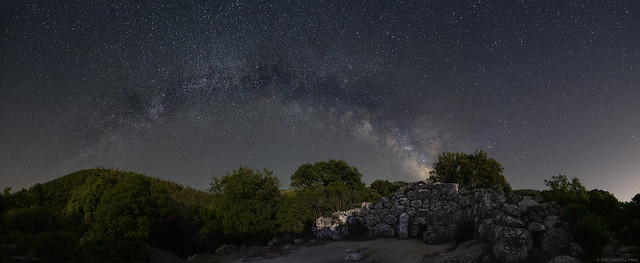 The Ogre's House's Milky Way Arch