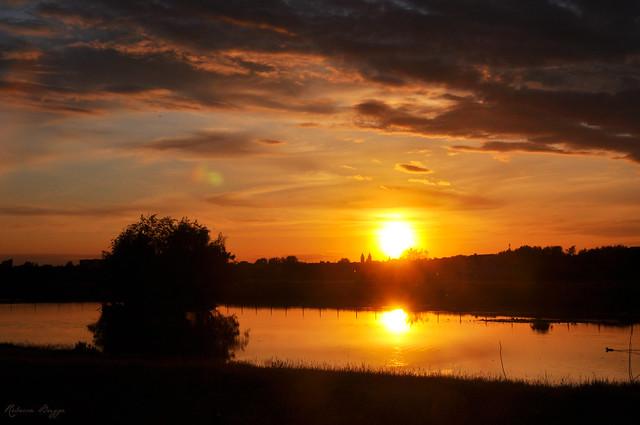 Lund sunset
