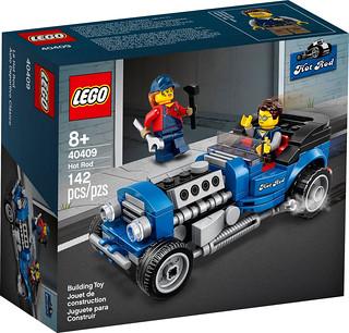 改裝魂燃起! LEGO 40409【Hot Rod】滿額禮正式發表!台灣發售詳情公開~