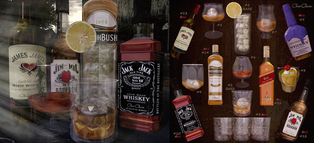 Whiskey gacha by ChicChica @ Arcade