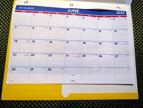 June 2020 Diary