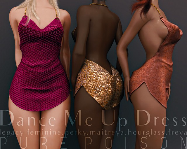 Pure Poison - Dance Me Up Dress - AD