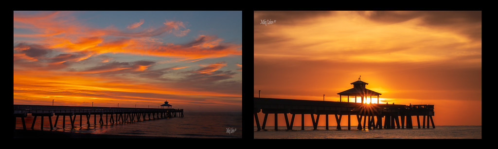 Deerfield Pier Sunrise Doublet