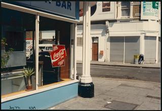 Cafe, Plato Rd, Brixton, 1989 TQ3077-009