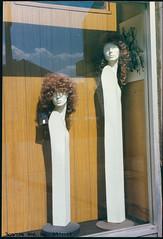 Heads in Shop, Streatham High Rd, Streatham, 1990 TQ3072-007