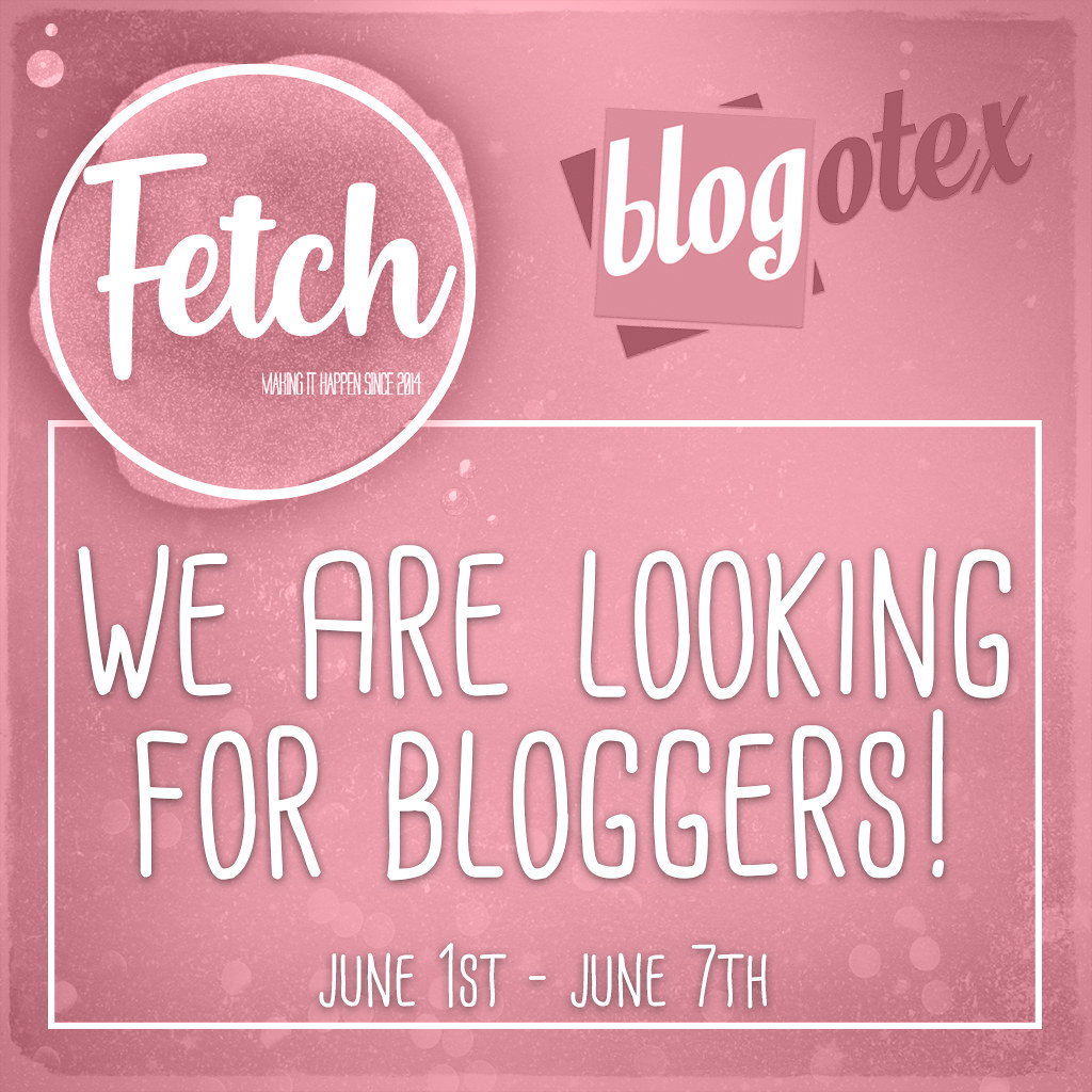 [Fetch] 2020 Blogger Search!