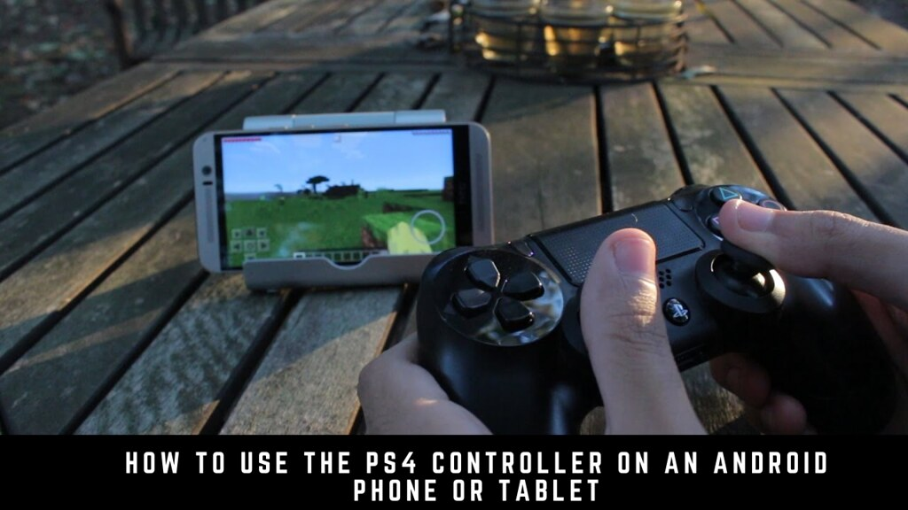 How to use the PS4 controller on an Android phone or tablet
