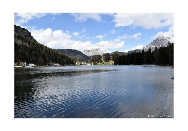 Dolomiti, lago di Misurina