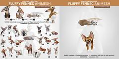 SEmotion Libellune Fluffy Fennec Animesh