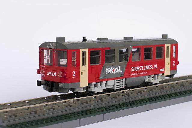 ČD Class 810 - Motorak - SKPL 810 569-4 -