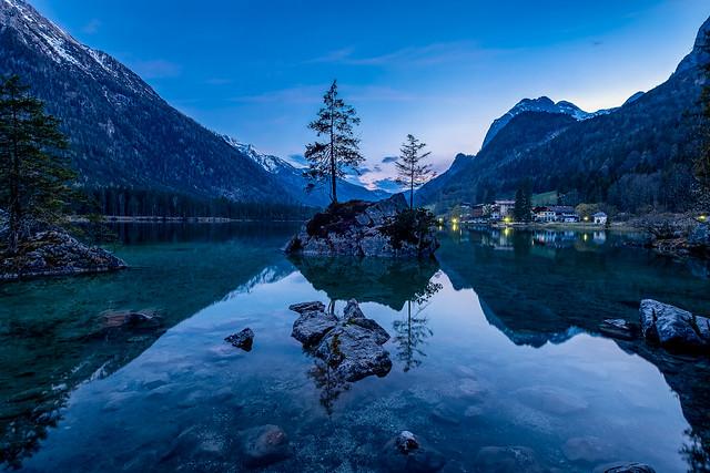 Lake Hintersee - Blue Hour