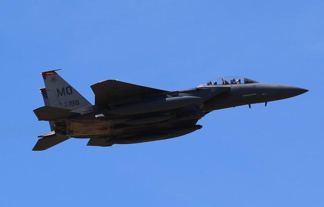 McDonnell F-15 Eagle 87-0198 Lakenheath 29/05/20
