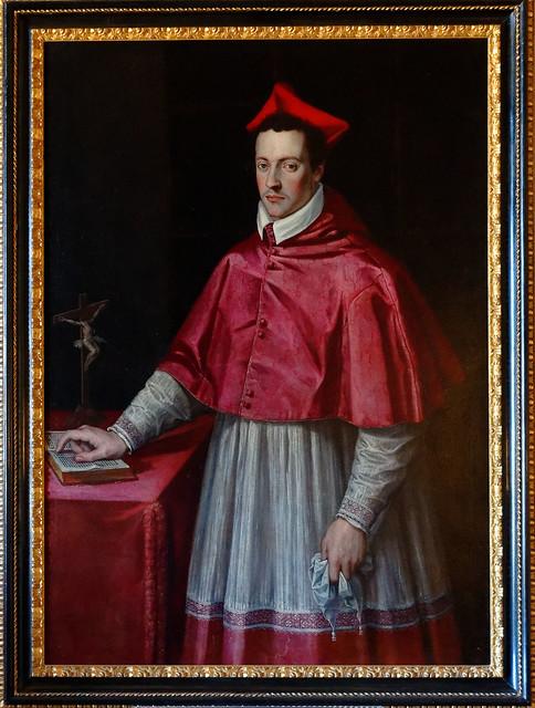 Medici Villa - Rome /  Cardinal Ferdinand de Medici  ( Jacopo Zucchi )
