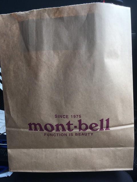 mont-bellの帽子