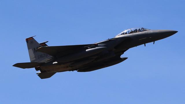 McDonnell F-15 Eagle 88-1678 Lakenheath 29/05/20