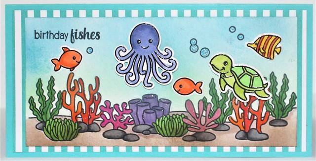 Birthday Fishes 2