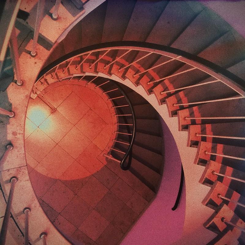 Die Treppe bei Hörgeräte Iffland ist immer noch schön