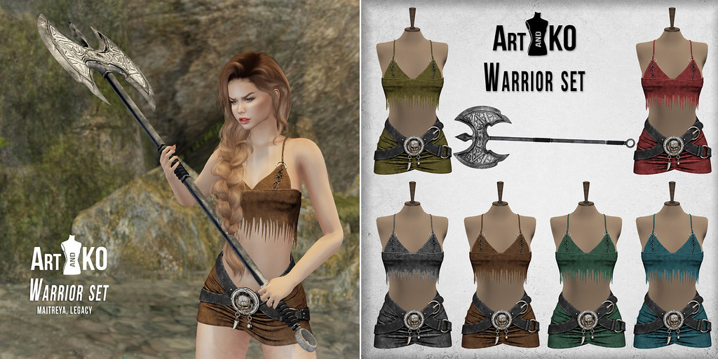 Art&KO – Warrior set – WLRP