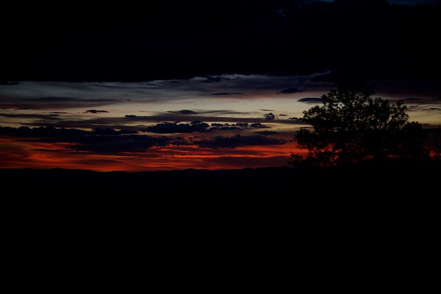 A Moody San Luis Valley Sunset