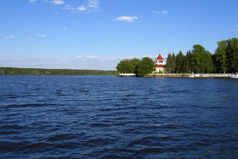 Устье Шоши, Иваньковское водохранилище