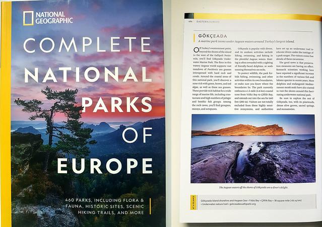 Complete National Parks of Europe   'Gokceada (Imbros) Underwater National Park, Özlem Acaroğlu'