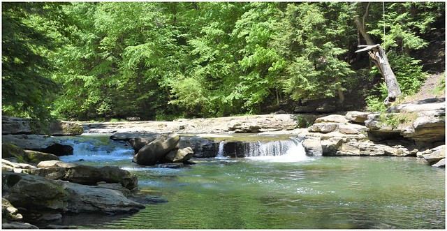 The Old Swimming Hole @ Buttermilk Falls
