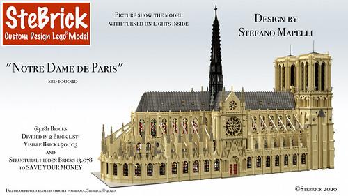 SBD 100020 Notre Dame de Paris